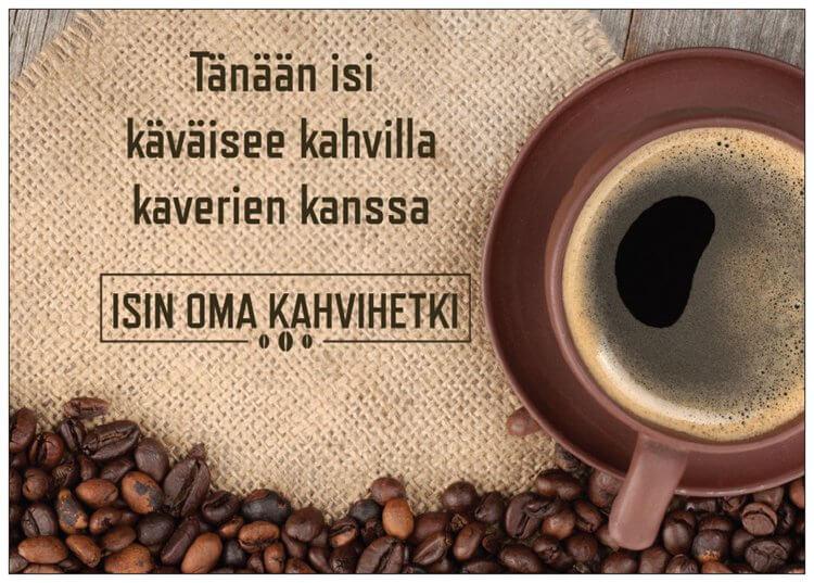 isi-kahvihetki