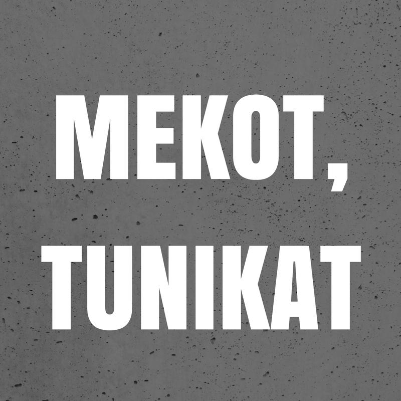 MEKOT, ESILIINAT