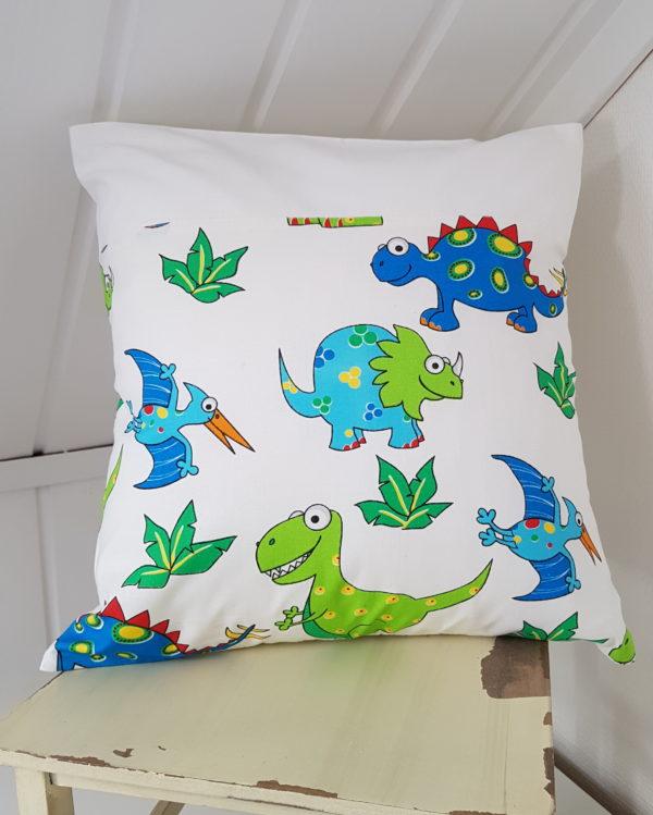 dinosaurus tyynynpäällinen