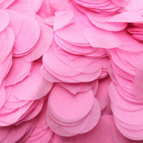 confetti vaaleanpunainen