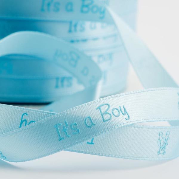 nap02088-its-a-boy-pale-blue-satin-ribbon-with-teddy-10mm-x-25m