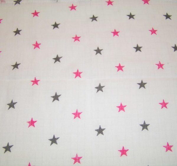 kuvioharso_tähdet_vaaleanpunainen